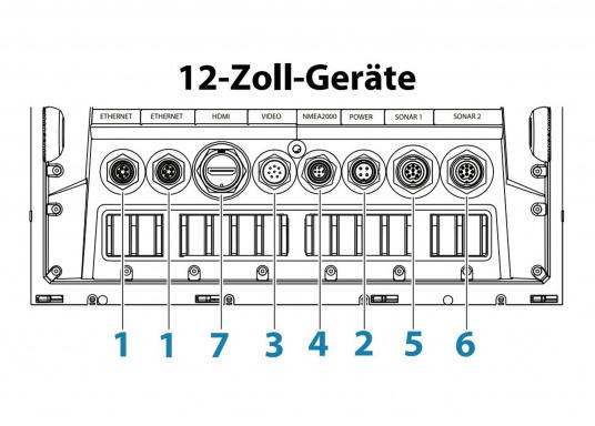 Lo Zeus³ 12 è un sistema di navigazione con plotter cartografico di facile utilizzo per velisti in mare aperto e regatanti con display touchscreen da 12 pollici, elettronica potente e un'ampia area di funzioni sviluppata appositamente per i velisti. (Immagine 8 di 8)