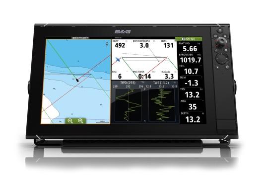 Le Zeus³ 12 de B & G est un traceur facile à utiliser, Destiné à la Navigation au large et à la régate. L'écran taktile 12 Pouces est au Service d'une électronique puissante avec de nombreuses Funktionen spécialement conçues pour la Navigation à la voile.