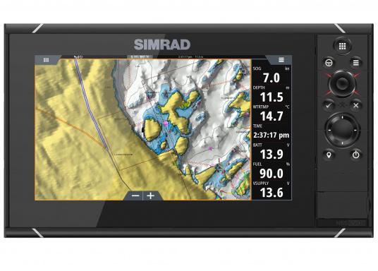 Navigieren, Kontrolle übernehmen und die enorme Funktionsvielfalt optimal ausnutzen – mit NSS evo3. Die SolarMAX™ HD-Anzeigetechnologie bietet ein außergewöhnlich klares Bild und extrem weite Sichtwinkel. Dank allwettertauglichem Touchscreen und erweitertem Tastenfeld behalten Sie unter allen Bedingungen die volle Kontrolle. (Bild 8 von 12)