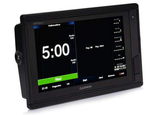 Garmin GPSMAP 922 chartplotter with a 9-inch touchscreen and intuitive operation as well as NMEA2000, NMEA 0183, WiFi and Garmin marine network support. Use the new Garmin BlueChart g3 or g3 Vision nautical charts and select your sailing area from a variety of chart areas. (Image 8 of 11)