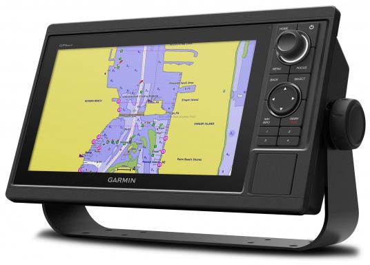Kartenplotter GPSMAP 1022 mit 10 Zoll großem Display und intuitiver Bedienung sowie NMEA2000 und NMEA 0183 Unterstützung. (Bild 2 von 3)