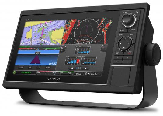 Kartenplotter GPSMAP 1022 mit 10 Zoll großem Display und intuitiver Bedienung sowie NMEA2000 und NMEA 0183 Unterstützung.