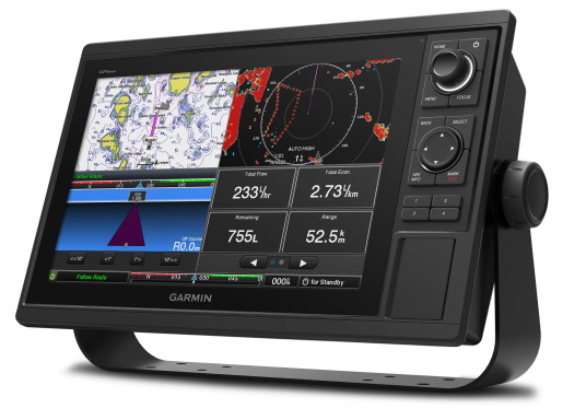 GPSMAP 1222 chartplotter with a 12-inch touchscreen and intuitive controls, as well as NMEA2000 and NMEA0183 support. (Afbeelding 2 of 5)