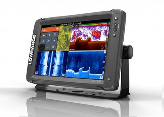 Lowrance® Elite-12Ti ist ein Touchscreen-Fischfinder/Kartenplotter, der eine breite Palette von Funktionen und Features bietet. (Bild 3 von 3)