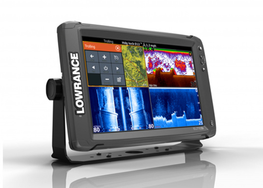 Lowrance® Elite-12Ti ist ein Touchscreen-Fischfinder/Kartenplotter, der eine breite Palette von Funktionen und Features bietet.