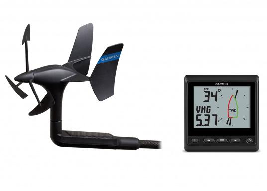 Das GNX Wireless Wind Paket besteht aus dem GNX Wind-Instrument und dem kabellosen gWind Wireless-2-Geber.