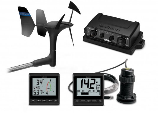 Das GNX Wind Segelpaket enthält alle Geräte, um zu wissen, wie es um Wind und Wasser steht.