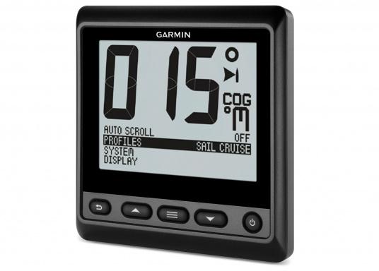 Das GNX 20-Marineinstrument ist mit einem gut lesbaren Display ausgestattet, auf dem schwarze Ziffern auf einem weißen oder farbigen Hintergrund angezeigt werden. So können Sie Daten zu Tiefe, Geschwindigkeit und Wind sowie mehr als 50 Marine- und Schiffsparameter ganz einfach ablesen. (Bild 11 von 15)