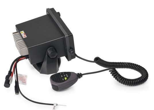"The V50 VHF radio for dual-channel communication with AIS reception and VHF via a single antenna. The unique ""TrackYourBuddy"" function shows the position of up to three buddies.  (Afbeelding 3 of 6)"