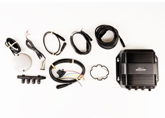 Das neue Lowrance Autopilot-Kit ist kompatibel mit den Displays der High-Definition-Serien (HDS). Es bietet eine automatische Steuerung für Außenbordmotoren mit Seilzugsteuerung. (Bild 7 von 8)