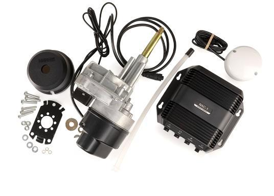 Das neue Lowrance Autopilot-Kit ist kompatibel mit den Displays der High-Definition-Serien (HDS). Es bietet eine automatische Steuerung für Außenbordmotoren mit Seilzugsteuerung. (Bild 6 von 8)