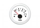 Voltmètre 18-32 V / 52 mm