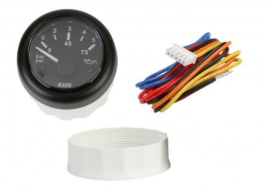 KUS Oil Pressure Gauge 0-5 bar / 52 mm only 29,95 € buy now | SVB