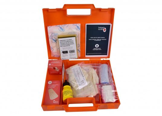 Erste-Hilfe-Koffer, der den französischen Vorschriften für das Binnengewässersegeln (D240 - Hauturier) entspricht. (Bild 3 von 3)