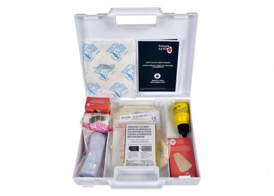 Erste-Hilfe-Koffer, der den französischen Vorschriften für das Segeln bis 6 Seemeilen von der Küste (D240 - Hauturier) entspricht. (Bild 3 von 3)