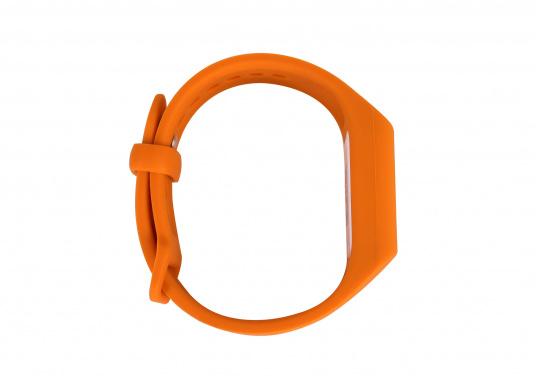 Bei dem MOB-Armband von SEATAGS handelt es sich um einen MOB-Sender, der perBluetoothmit einem kompatiblen Smartphone oder Tablet (Android oder iOS)verbunden wird. Dazu muss lediglich die kostenlose App auf dem jeweiligen Gerät installiert werden. (Bild 3 von 13)