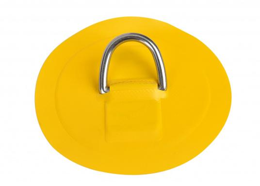 Mittlere D-Ringe als Ersatzteil für Ihr SEATEC Schlauchboot. Erhältlich in verschiedenen Größen. Farbe: gelb. (Bild 2 von 2)