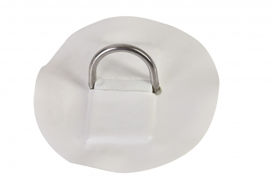 Kleiner D-Ring Aufsatz als Ersatzteil für Ihr SEATEC iSUP300 und iSUP 365.Abmessungen:Ø 10 cm. Farbton: weiß.