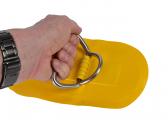 Maniglia con anello a D / giallo