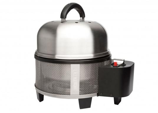 Das Modell ist sehr sparsam und kann ca. 3 Stunden mit nur einer einzigen Gaskartusche mit Schraubgewinde grillen.
