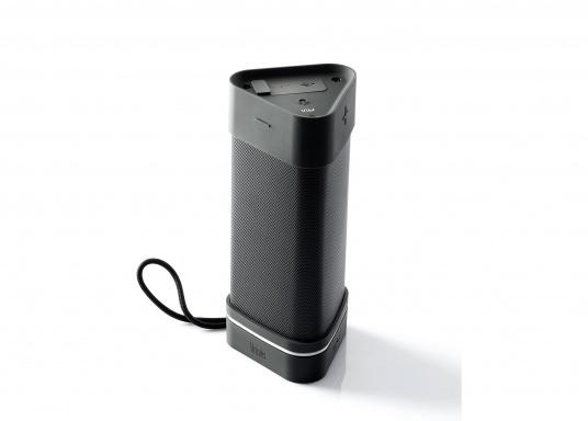 Robuster Bluetooth der speziell für den Outdoor-Einsatz entwickelt wurde und somit Stöße und Stürze einfach wegstecken kann. (Bild 3 von 7)