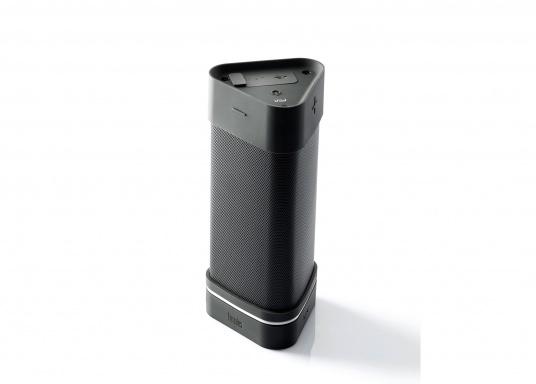 Robuster Bluetooth der speziell für den Outdoor-Einsatz entwickelt wurde und somit Stöße und Stürze einfach wegstecken kann. (Bild 2 von 7)