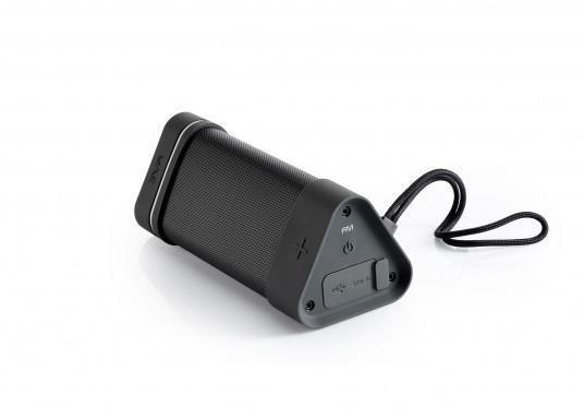Robuster Bluetooth der speziell für den Outdoor-Einsatz entwickelt wurde und somit Stöße und Stürze einfach wegstecken kann. (Bild 7 von 7)