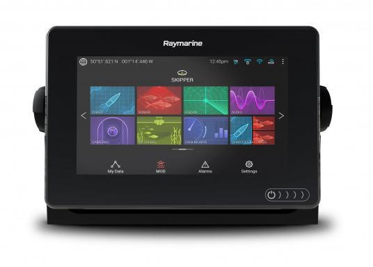 Ein leistungsfähiges neues Multifunktions-Navigationssystem von Raymarine. Mit dem neuen LightHouse 3 Betriebssystem und der glänzenden schnellen Quad-Core-Performance, wird Axiom Ihre Zeit auf das Wasser verändern. (Bild 6 von 11)