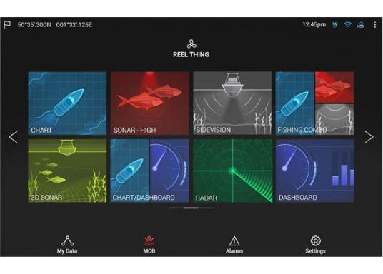Ein leistungsfähiges neues Multifunktions-Navigationssystem von Raymarine. Mit dem neuen LightHouse 3 Betriebssystem und der glänzenden schnellen Quad-Core-Performance, wird Axiom Ihre Zeit auf das Wasser verändern. (Bild 7 von 9)