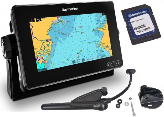 RAYMARINE AXIOM 7 / with integrated Sonar and DownVision, CPT-100