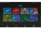 AXIOM 7 / mit integr. Sonar und DownVision, CPT-100 DVS Geber und Navionics+ Download Karte