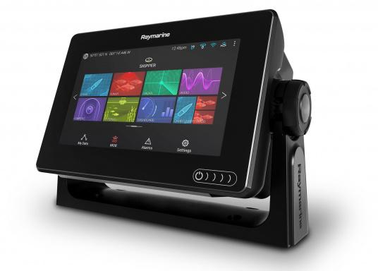 Ein leistungsfähiges neues Multifunktions-Navigationssystem von Raymarine. Mit dem neuen LightHouse 3 Betriebssystem und der glänzenden schnellen Quad-Core-Performance, wird Axiom Ihre Zeit auf das Wasser verändern. (Bild 5 von 14)