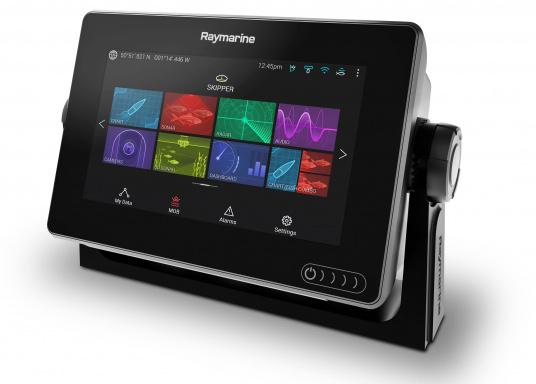 Ein leistungsfähiges neues Multifunktions-Navigationssystem von Raymarine. Mit dem neuen LightHouse 3 Betriebssystem und der glänzenden schnellen Quad-Core-Performance, wird Axiom Ihre Zeit auf das Wasser verändern. (Bild 7 von 14)