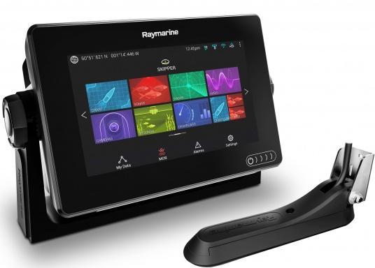 Ein leistungsfähiges neues Multifunktions-Navigationssystem von Raymarine. Mit dem neuen LightHouse 3 Betriebssystem und der glänzenden schnellen Quad-Core-Performance, wird Axiom Ihre Zeit auf das Wasser verändern. (Bild 2 von 14)