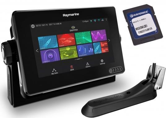 Ein leistungsfähiges neues Multifunktions-Navigationssystem von Raymarine. Mit dem neuen LightHouse 3 Betriebssystem und der glänzenden schnellen Quad-Core-Performance, wird Axiom Ihre Zeit auf das Wasser verändern. Im Lieferumfang ist eine Navionics+ Download Seekarte enthalten. (Bild 2 von 11)