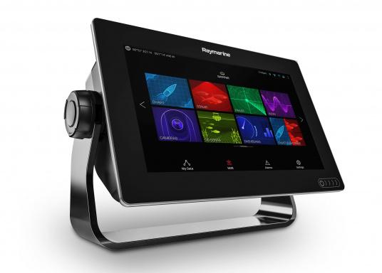 Ein leistungsfähiges neues Multifunktions-Navigationssystem von Raymarine. Mit dem neuen LightHouse 3 Betriebssystem und der glänzenden schnellen Quad-Core-Performance, wird Axiom Ihre Zeit auf das Wasser verändern. (Bild 4 von 8)