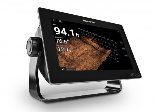 Ein leistungsfähiges neues Multifunktions-Navigationssystem von Raymarine. Mit dem neuen LightHouse 3 Betriebssystem und der glänzenden schnellen Quad-Core-Performance, wird Axiom Ihre Zeit auf das Wasser verändern.