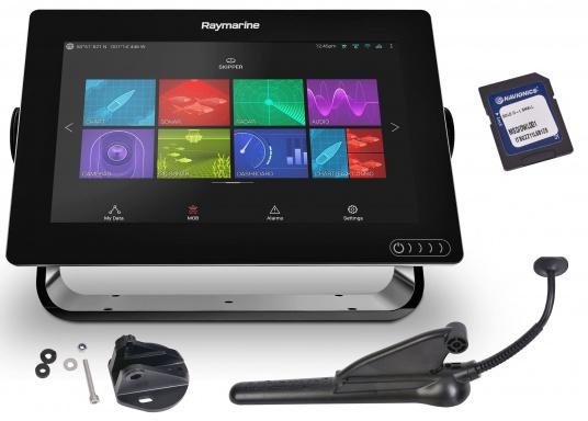 Ein leistungsfähiges neues Multifunktions-Navigationssystem von Raymarine. Mit dem neuen LightHouse 3 Betriebssystem und der glänzenden schnellen Quad-Core-Performance, wird Axiom Ihre Zeit auf das Wasser verändern. Im Lieferumfang ist eine Navionics+ Download Seekarte enthalten. (Bild 2 von 14)