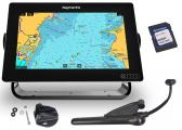 AXIOM 9 / with integrated RealVision 3D Sonar, CPT-100 DVS Transducer and Navionics+ Chart Download