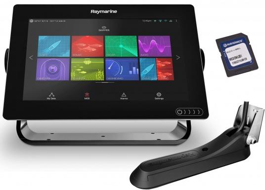 Ein leistungsfähiges neues Multifunktions-Navigationssystem von Raymarine. Mit dem neuen LightHouse 3 Betriebssystem und der glänzenden schnellen Quad-Core-Performance, wird Axiom Ihre Zeit auf das Wasser verändern. Im Lieferumfang ist eine Navionics+ Download Seekarte enthalten. (Bild 2 von 9)