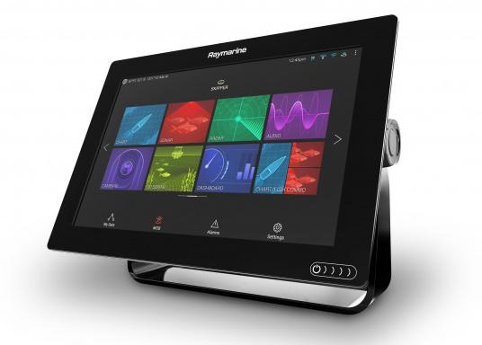 Ein leistungsfähiges neues Multifunktions-Navigationssystem von Raymarine. Mit dem neuen LightHouse 3 Betriebssystem und der glänzenden schnellen Quad-Core-Performance, wird Axiom Ihre Zeit auf das Wasser verändern. (Bild 7 von 8)