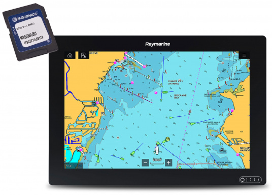 Ein leistungsfähiges neues Multifunktions-Navigationssystem von Raymarine. Mit dem neuen LightHouse 3 Betriebssystem und der glänzenden schnellen Quad-Core-Performance, wird Axiom Ihre Zeit auf das Wasser verändern. Im Lieferumfang ist eine Navionics+ Download Seekarte enthalten.