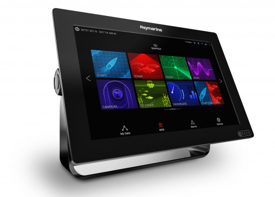 A powerful new multifunction navigation system from Raymarine. With the all new LightHouse 3 operating system and blazing fast quad core performance, Axiom will transform your time on the water. (Image 4 of 11)