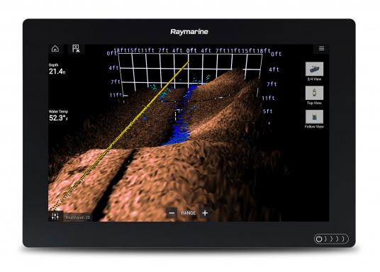 Ein leistungsfähiges neues Multifunktions-Navigationssystem von Raymarine. Mit dem neuen LightHouse 3 Betriebssystem und der glänzenden schnellen Quad-Core-Performance, wird Axiom Ihre Zeit auf das Wasser verändern. (Bild 10 von 14)