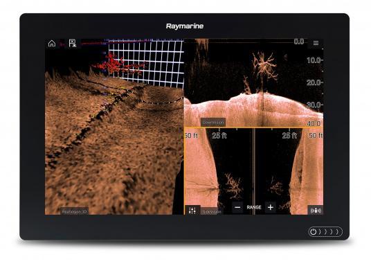 Ein leistungsfähiges neues Multifunktions-Navigationssystem von Raymarine. Mit dem neuen LightHouse 3 Betriebssystem und der glänzenden schnellen Quad-Core-Performance, wird Axiom Ihre Zeit auf das Wasser verändern. Im Lieferumfang ist eine Navionics+ Download Seekarte enthalten. (Bild 14 von 14)
