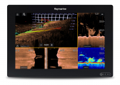 AXIOM 12 / with integrated RealVision 3D Sonar, RV-100 Transducer and Navionics+ Download Chart
