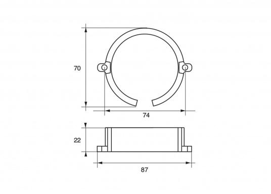 Passende Anoden für Mercruiser-Antriebe der Serie BRAVO ONE. Erhältlich in Zink, Aluminium und Magnesium. Original Teilenummer: 806188A1. (Bild 2 von 2)