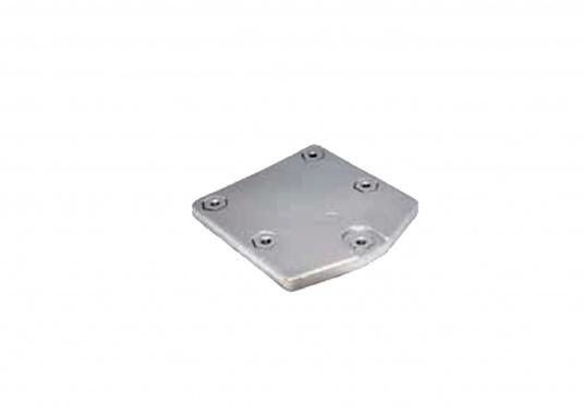 Passende Aluminiumanode für Zeus Antriebe von Mercruiser. Original Teilenummer: 87915QA65.