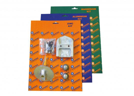 Das Mercruiser Anoden-Set für die Serie ALPHA 1 enthält 1x ME016B, 2x ME010 und 1x ME001. Wird mit Schrauben geliefert. Erhältlich in Zink, Aluminium und in Magnesium.