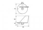 Zinc Motor Anode -SE-9 / Fin